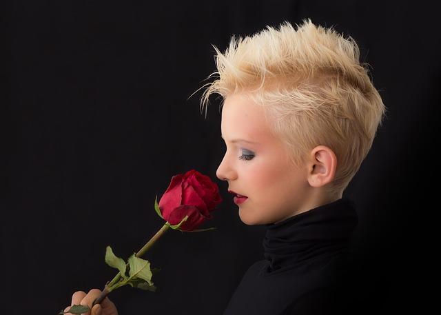 přičichnutí k růži
