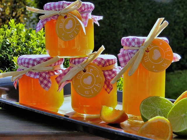 sklenice medu